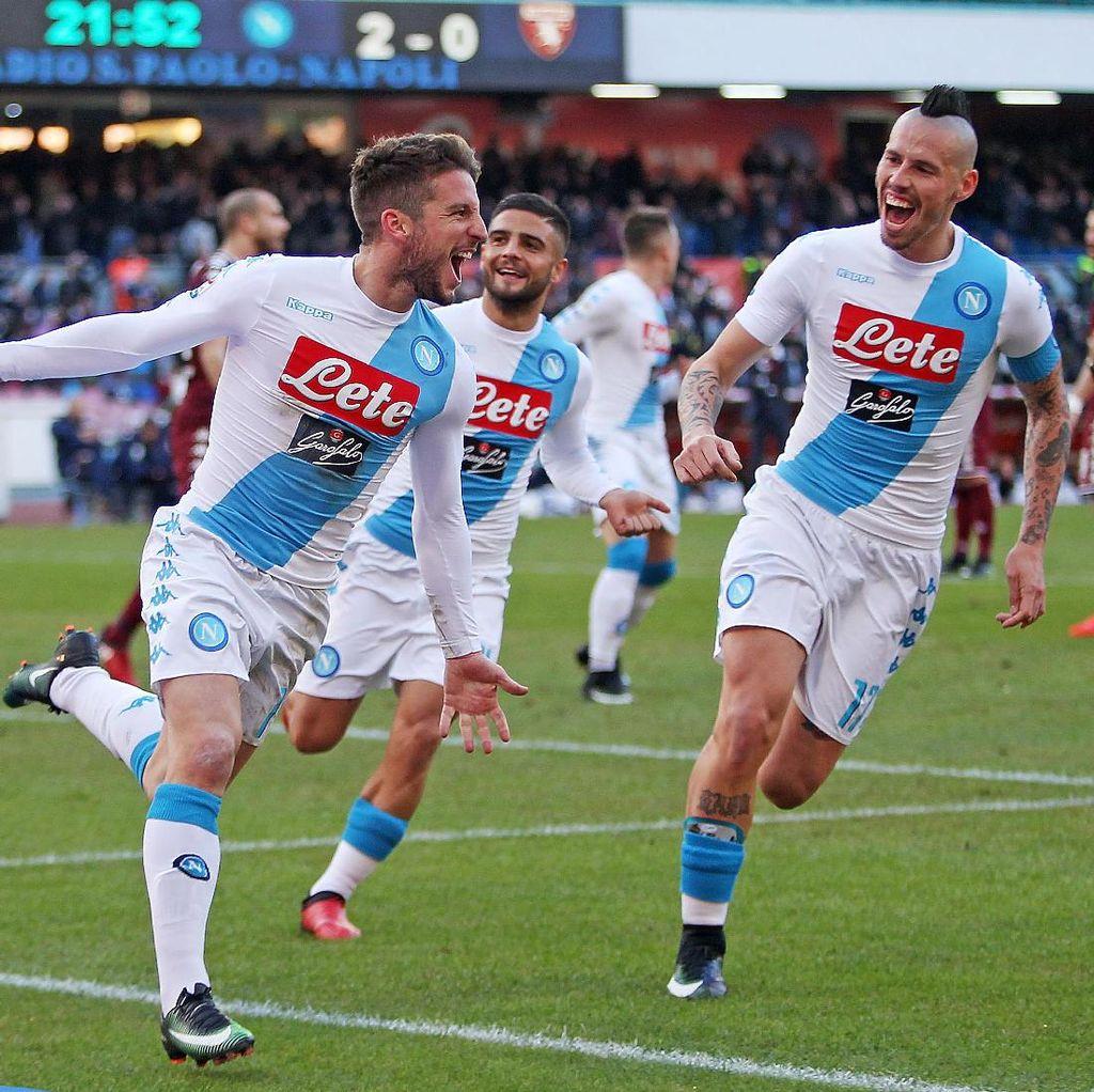 Presiden Napoli Sebut Laga Lawan Madrid Seperti David vs Goliath