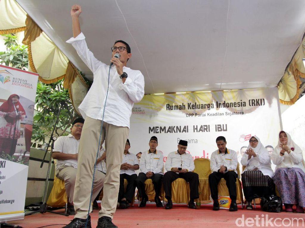 Sandiaga Hadiri Gebyar Rumah Keluarga Indonesia