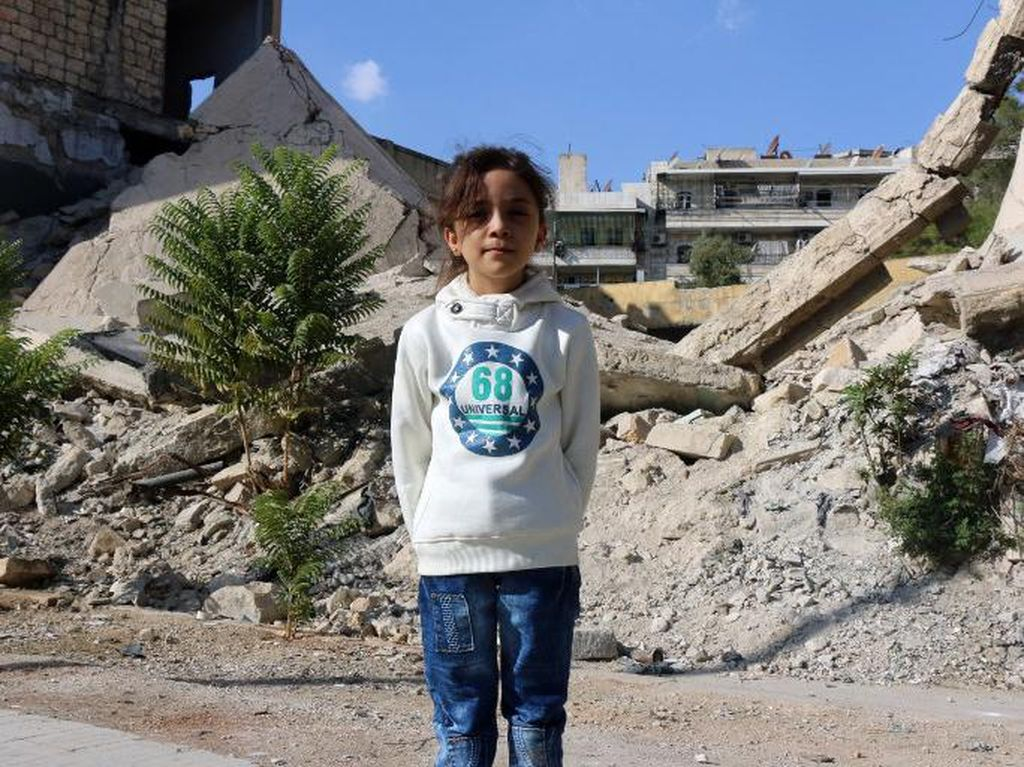 Selamat dari Konflik, Gadis Kecil Suriah Kini Jadi WN Turki
