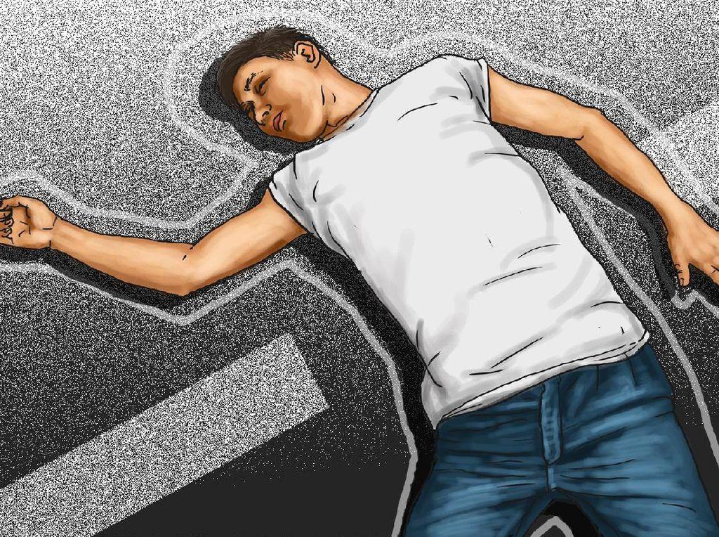 Pria Sukabumi Tewas Diduga Gegara Penjambret, Polisi Sebut Kecelakaan
