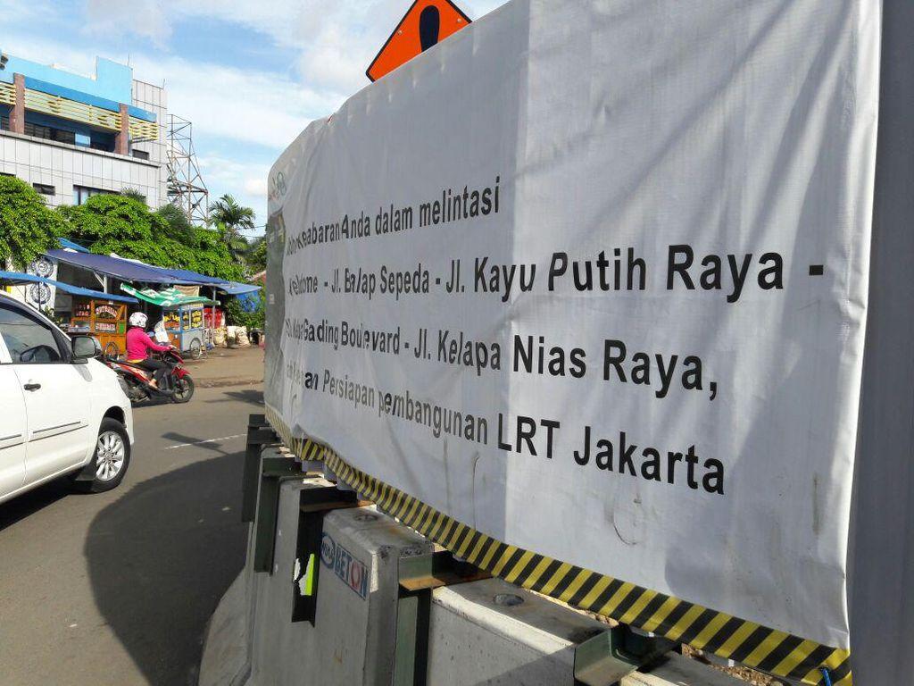 Apa Kabar Proyek LRT Jakarta Rute Kelapa Gading-Velodrome?