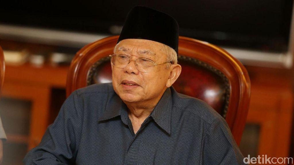 KH Ma'ruf Amin Sudah Ingatkan HTI Agar Tak Usung Prinsip Khilafah