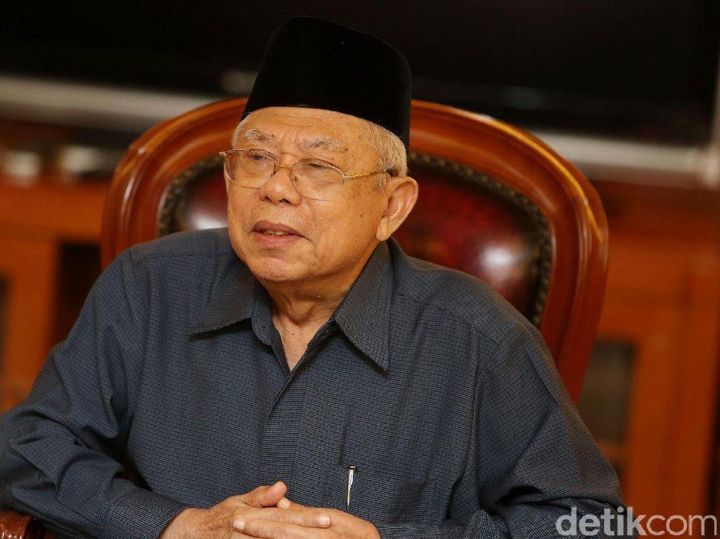 Soal Cuitan Surat Suara Tercoblos Tengku Zul, Maruf Bicara Etika di MUI
