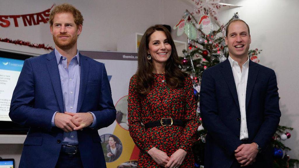 Gaya Keluarga Kate Middleton & Pangeran William di Hari Natal