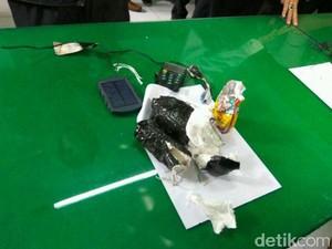 Penampakan Pipa dan Rangkaian Mirip Bom yang Hebohkan Ubud Bali