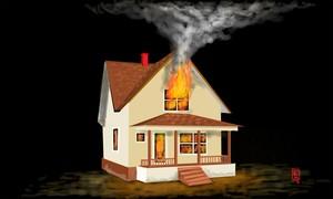 Tabung Gas Bocor, Rumah di Tanjung Duren Kebakaran