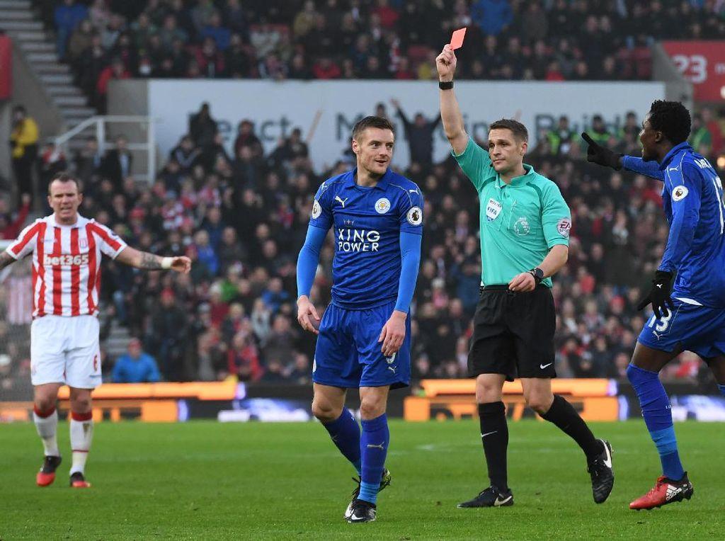 Leicester Ajukan Banding Kartu Merah Vardy