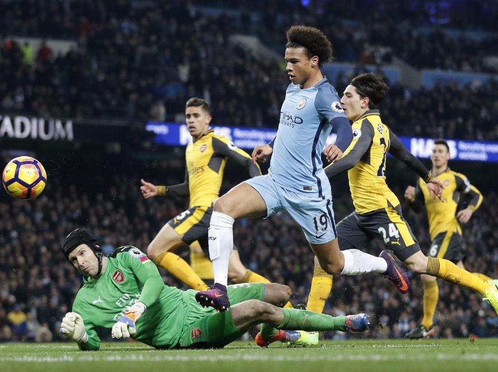 Usai Bikin Gol ke Gawang Arsenal, Sane Diharapkan Makin Bersinar