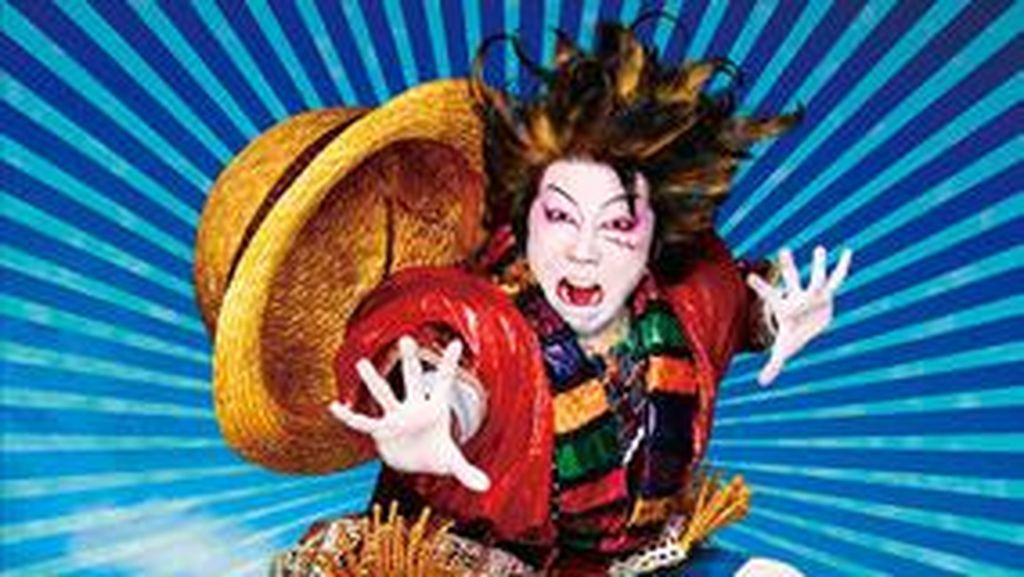 One Piece Diadaptasi ke Panggung Kabuki