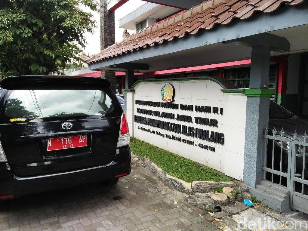 Darurat Corona, 400 Warga Binaan Malang Dirumahkan