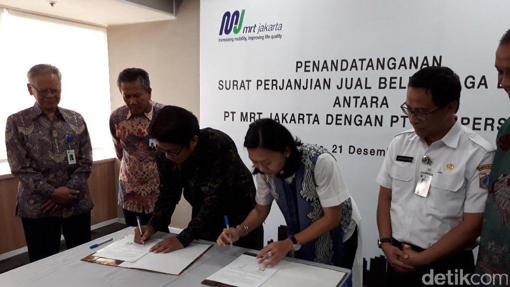 PLN Beri Layanan Premium Untuk Listrik MRT Jakarta, Harga Rp 1.300/Kwh