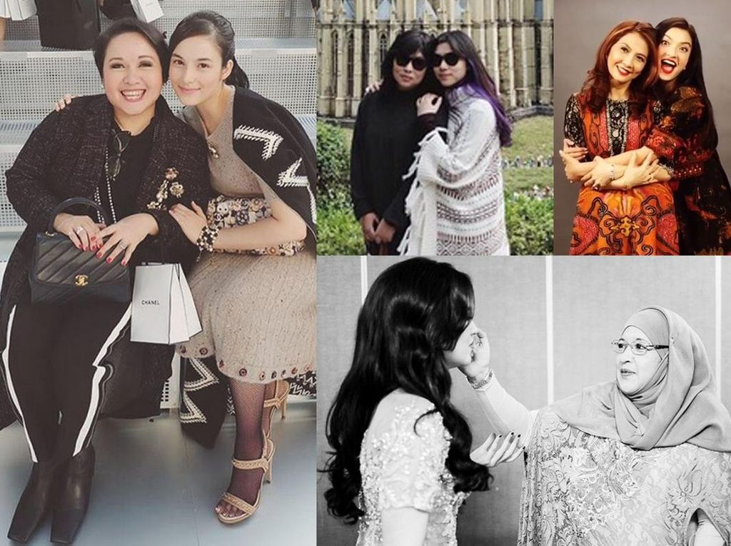 Inilah Ibu-ibu Hebat dari Para Seleb Cantik