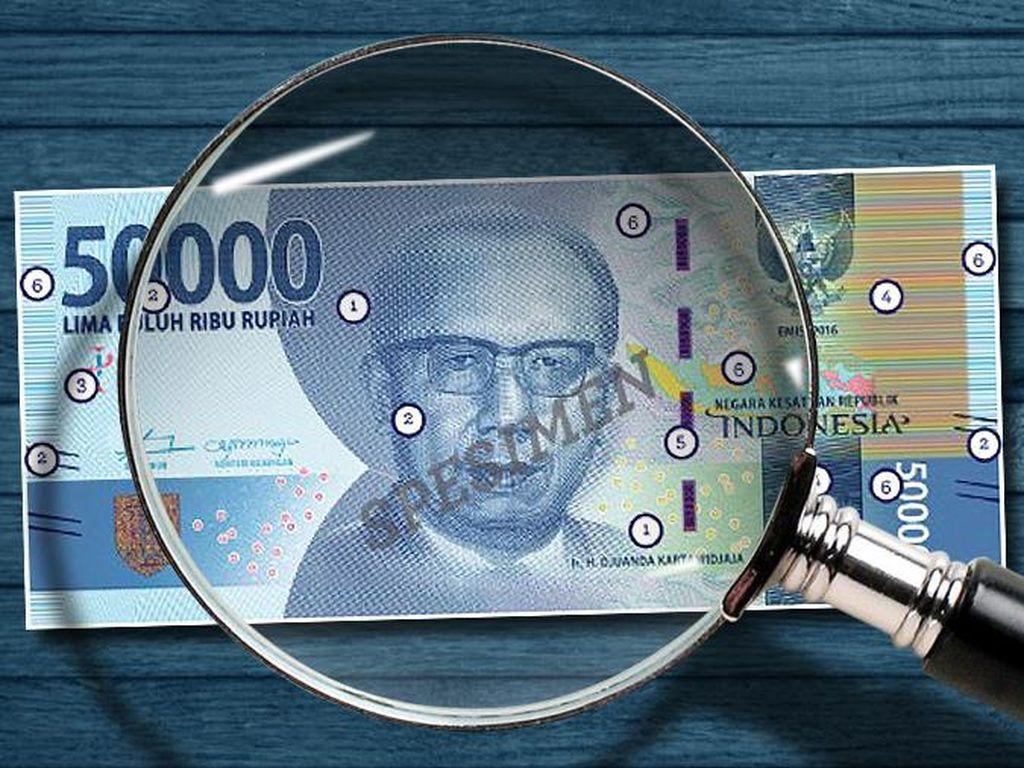Gubernur BI Tegaskan Tak Ada Simbol Palu Arit di Uang Rupiah