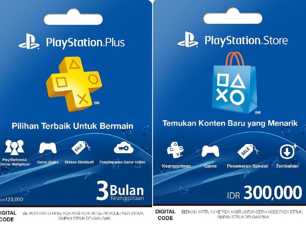Sony Tebar Kartu PlayStation di 7-Eleven dan Alfamart
