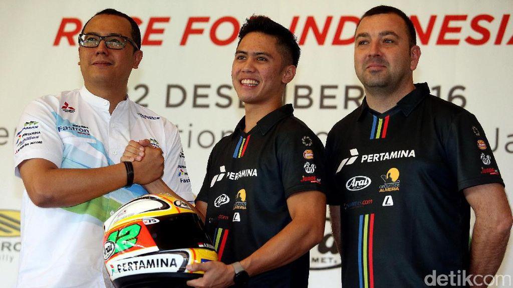 Pebalap Ali Adrian Terjun di FIM Supersport 300