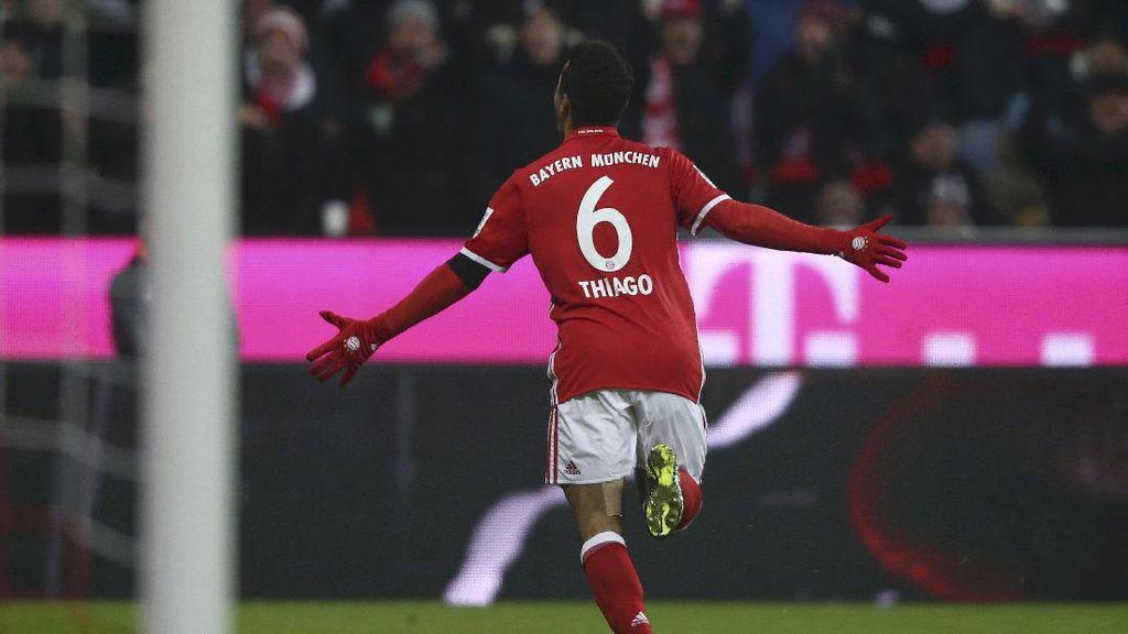 Thiago Akan Bertahan di Bayern sampai Menangi Trofi Liga Champions