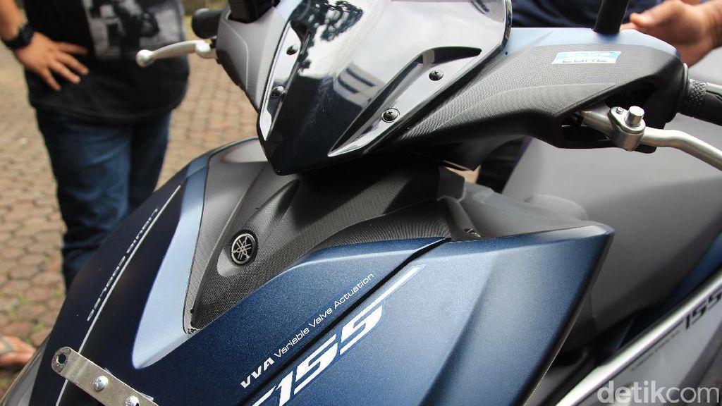 800 Unit Yamaha Aerox Sudah Terpesan