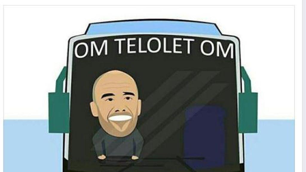 Om Messi, Om Ronaldo, Telolet Dong Om..