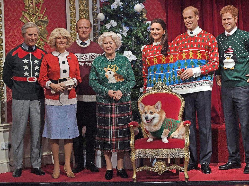 Inilah Santapan Natal Istimewa yang Dinikmati Keluarga Kerajaan Inggris