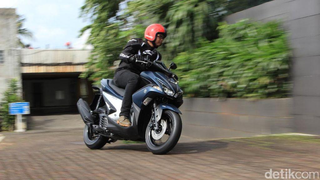 Impresi Perdana Yamaha Aerox 155VVA
