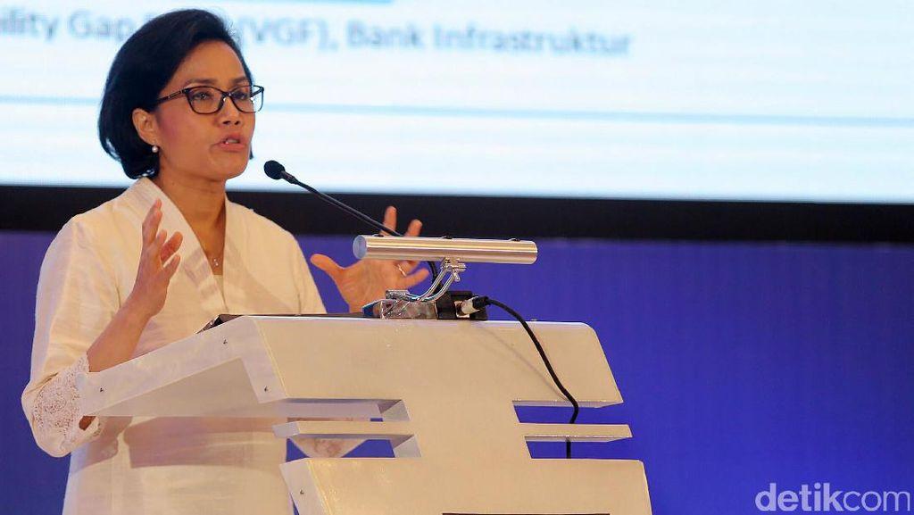 Sri Mulyani Buka Seminar Infrastruktur Indonesia