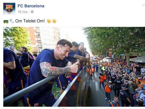 Demam 'Om Telolet Om' Menjangkiti Klub-Klub Eropa