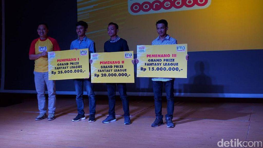 Ikut Main Indosat Fantasy League? Ini Dia Jawaranya!