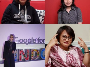 4 Srikandi Teknologi Indonesia Berkisah Tentang Ibu