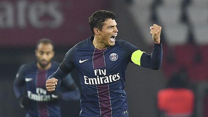 Thiago Silva tak tutup kemungkinan untuk balik ke AC Milan. (Foto: AFP PHOTO / FRANCK FIFE)