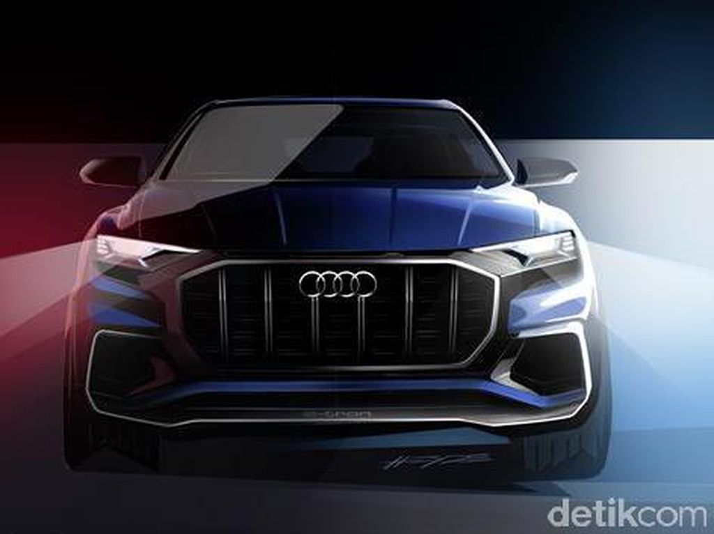 Audi Q8, SUV Paling Bongsor Audi Berwajah Sangar