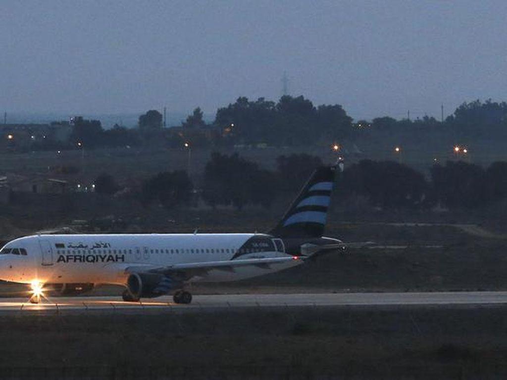 Pembajakan Pesawat Maskapai Libya Berakhir, Pelaku Ditangkap