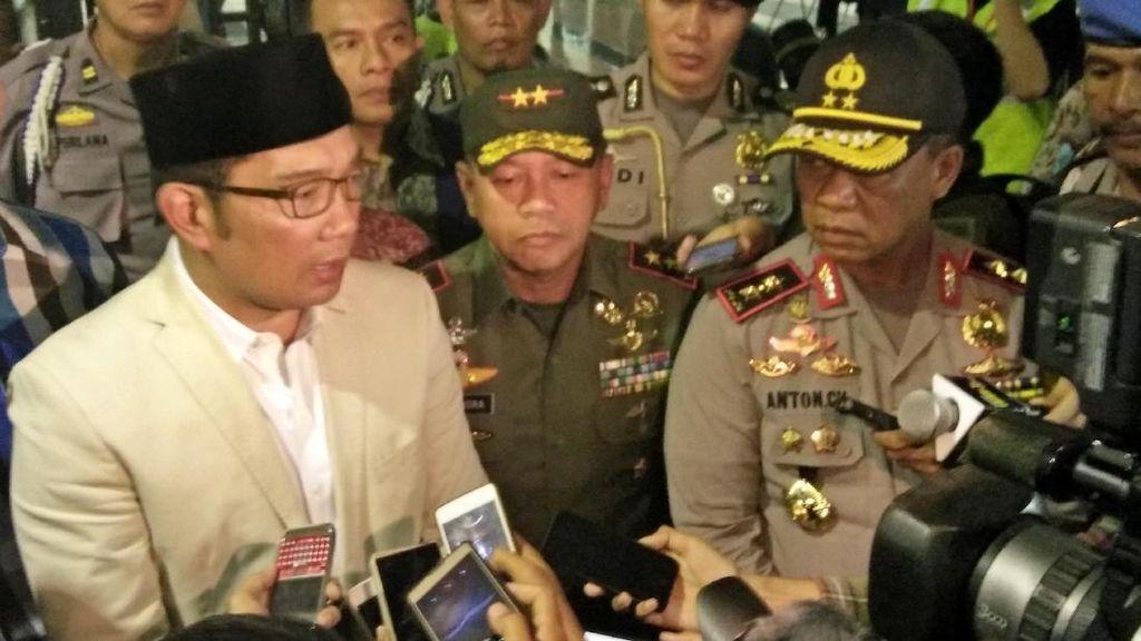 Ridwan Kamil Minta Satpol PP Relokasi PKL Cicadas 3 Bulan ke Depan