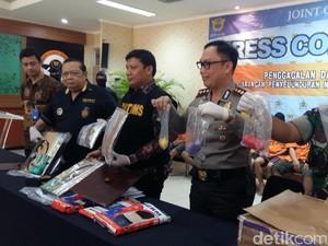 Penyelundupan Narkoba Rp 10 Miliar dari Malaysia Digagalkan