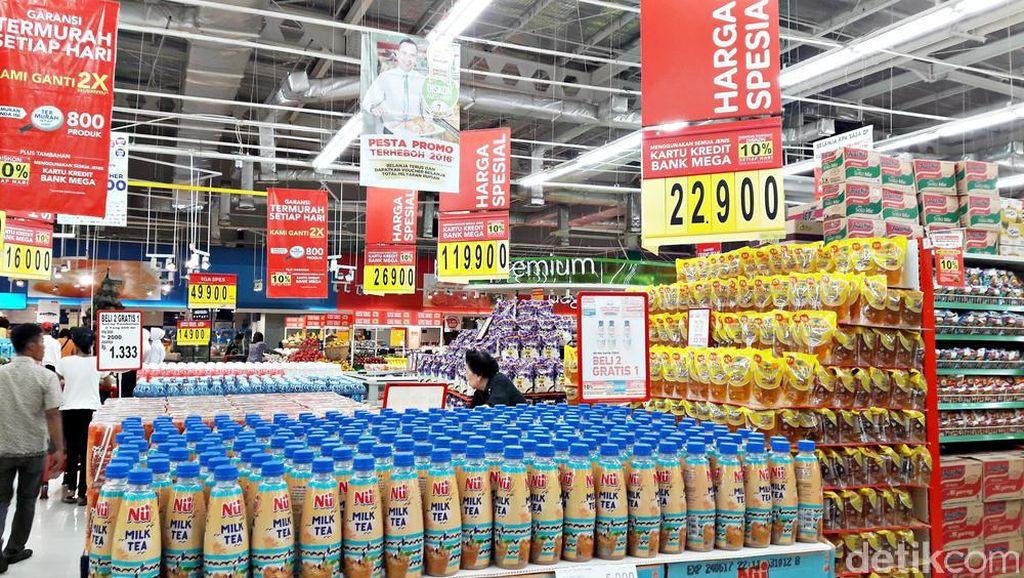 Ledakan Promo Akhir Pekan Beli 2 Gratis 1 di Transmart Carrefour