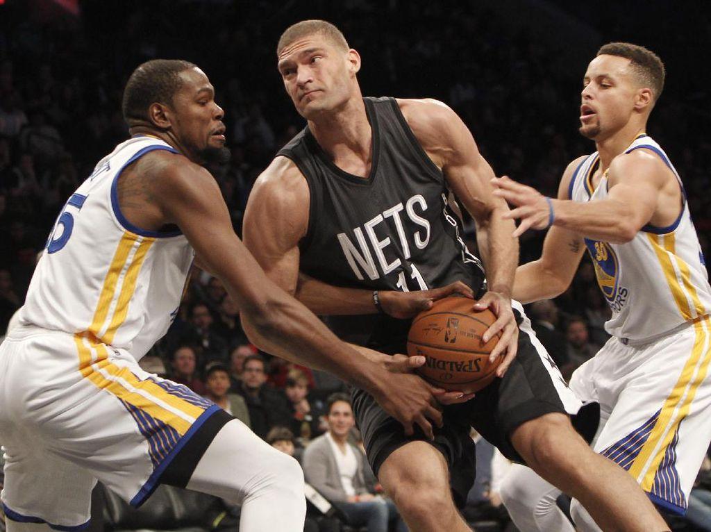 Bangkit dari Ketinggalan, Warriors Kalahkan Nets