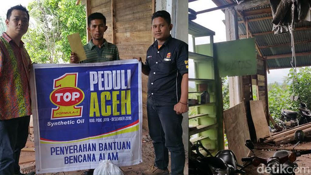 Produsen Oli Top1 Hapus Utang Bengkel Rekanan di Aceh