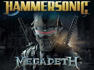 Megadeth Fix Bakar Jakarta di Hammersonic 2017