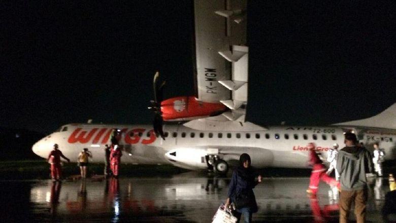Wings Air Tergelincir di Bandara Semarang, Ini Penjelasan Lion Air Group