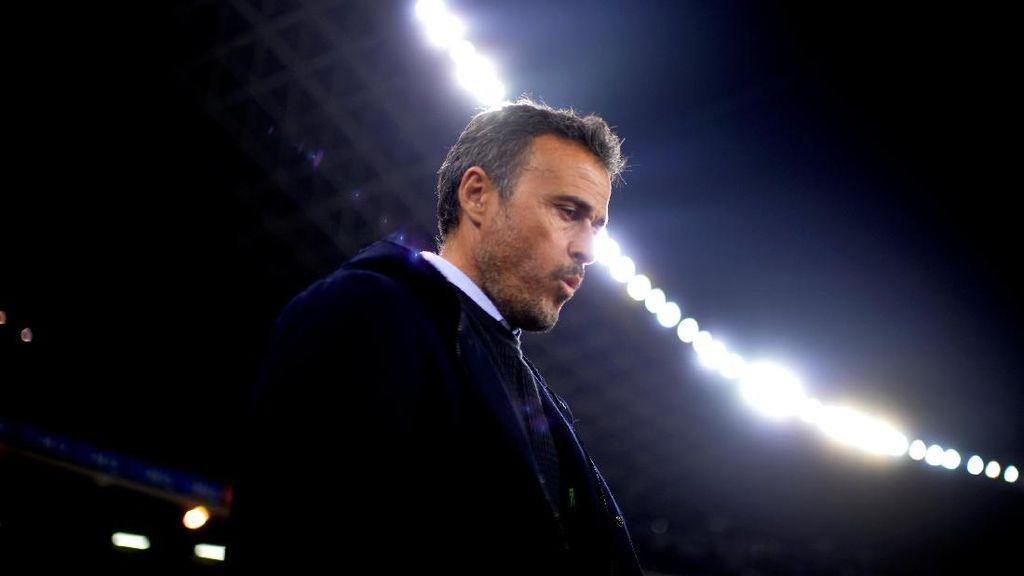 Kesedihan Enrique Usai Barca Dihancurkan PSG