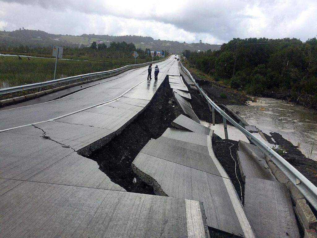 Gempa 7,6 SR Guncang Chile