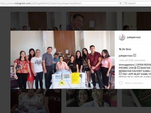 Lewat Timnya, Ahok Sampaikan Duka Cita Pada Jupe Via Instagram
