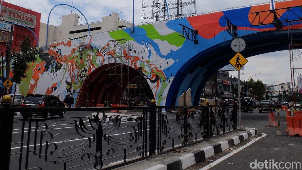 Besok Jembatan Pelangi Antapani Diresmikan Wapres Jusuf Kalla