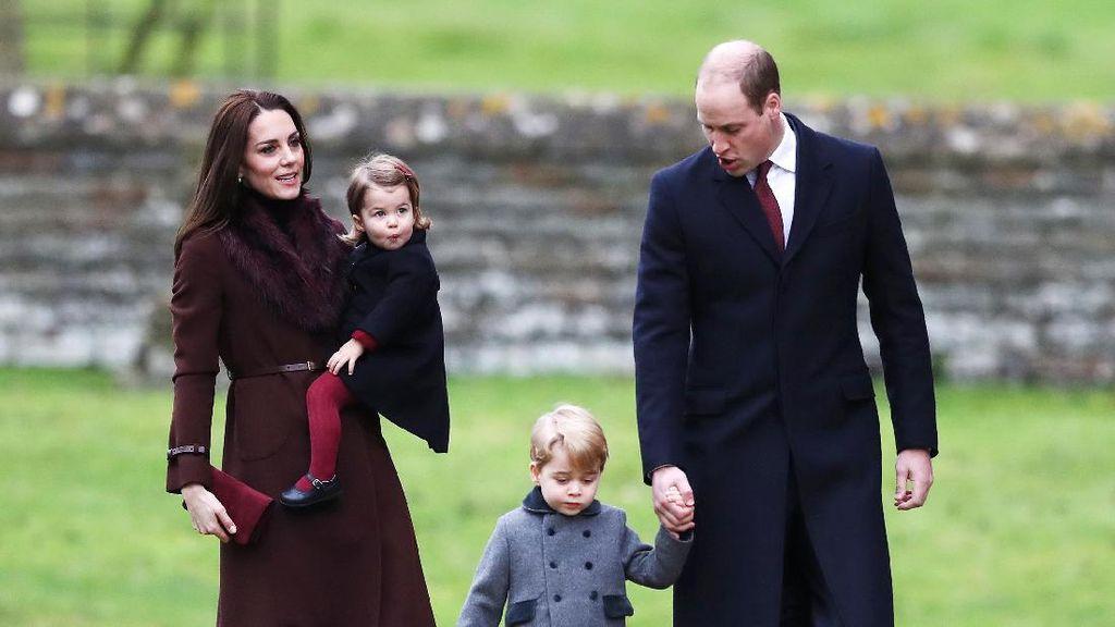 Kompaknya Kate Middleton dan Keluarga saat Natal