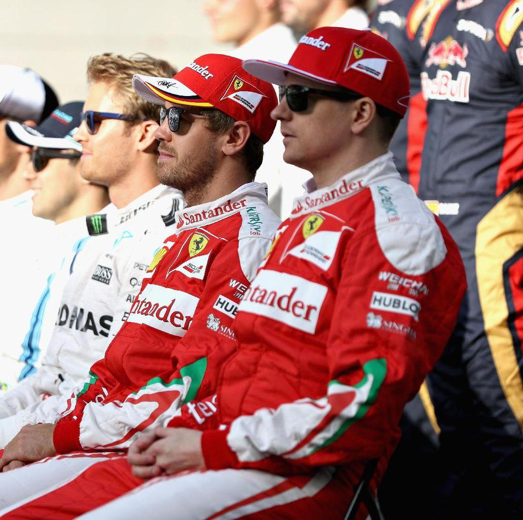 Raikkonen Terluka dengan Laju Ferrari di Musim 2016