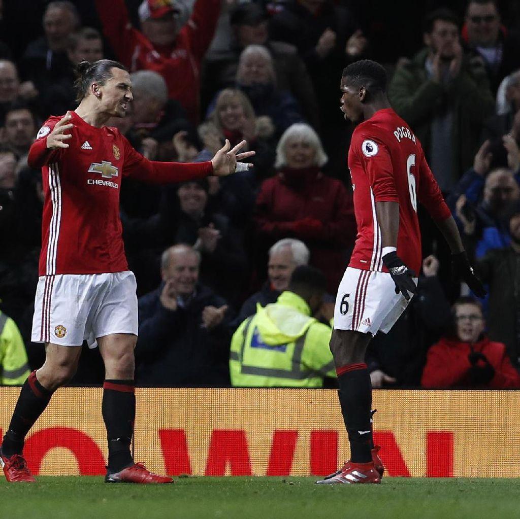 Ibrahimovic: Pogba Akan Bisa Atasi Tekanan