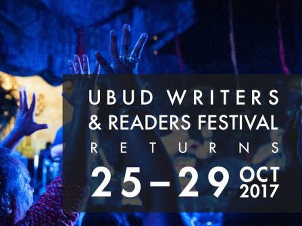 Ubud Writers and Readers Festival 2017 Hadirkan 160 Pembicara