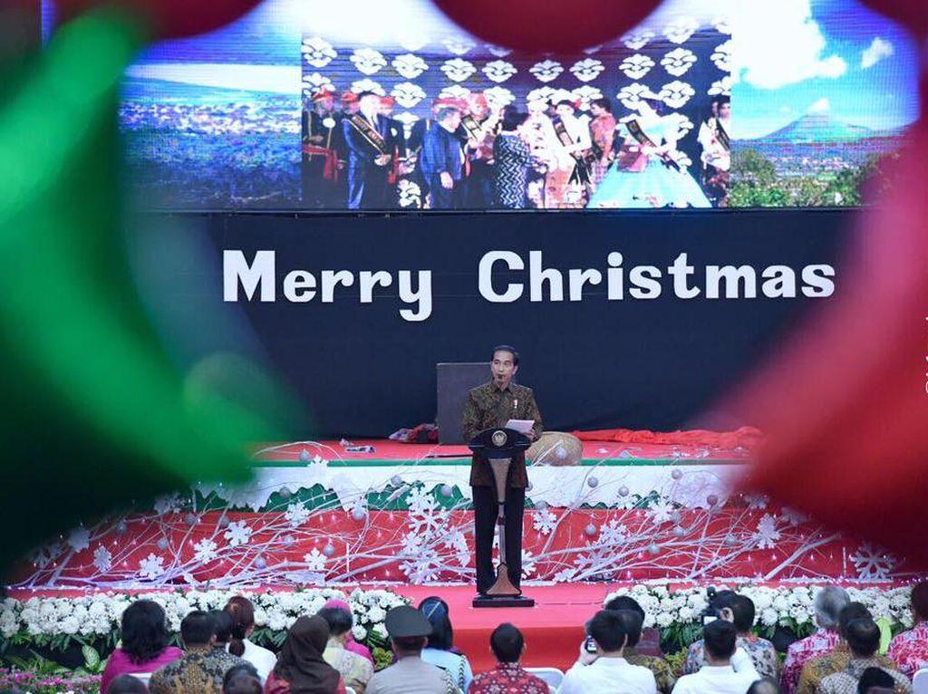 Jokowi Akan Hadiri Perayaan Natal Nasional 2019 di Bogor