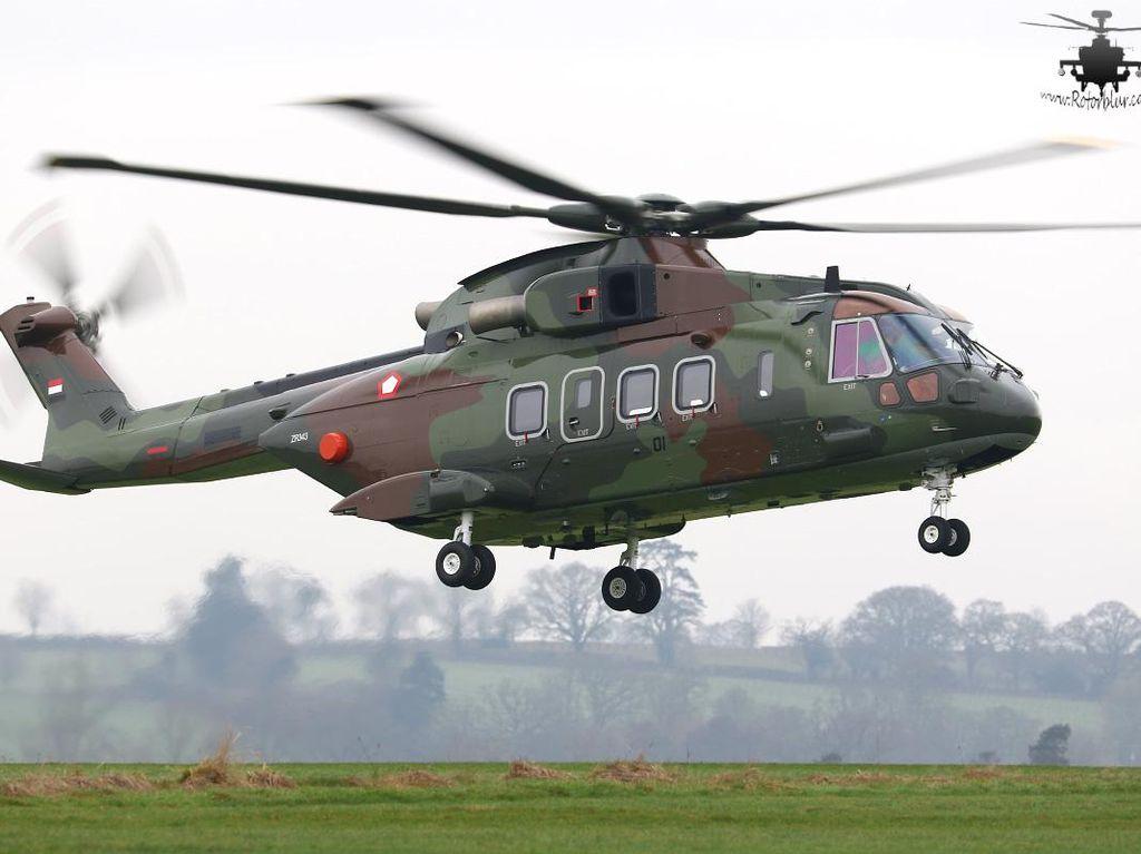 Heli AW 101 Bukan untuk Kepresidenan, TNI AU: Ini untuk Militer dan SAR