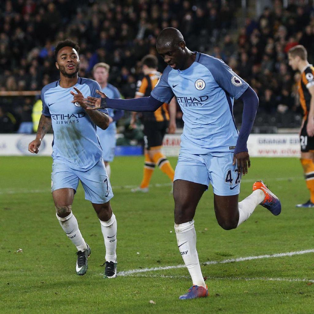 Yaya Toure Optimistis dengan Kans Juara City di Liga Champions