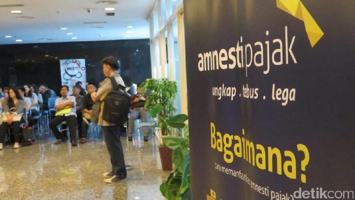 Kantor pusat Ditjen Pajak mulai dipadati peserta tax amnesty